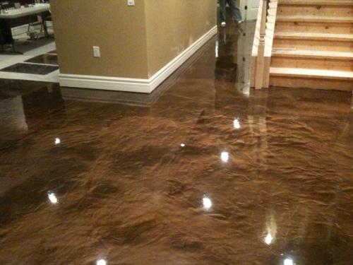Cincinnati Basement Floor Resurfacing