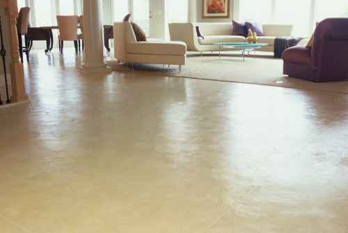 Cincinnati concrete floor resurfacing experts making your - Interior concrete floor resurfacing ...