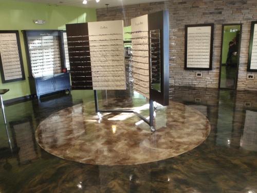 Acid Stained Concrete Contractors Leaders In Greater Cincinnati - Cost effective basement flooring